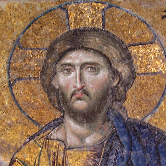 Cristo Pantocrator Santa Sofia