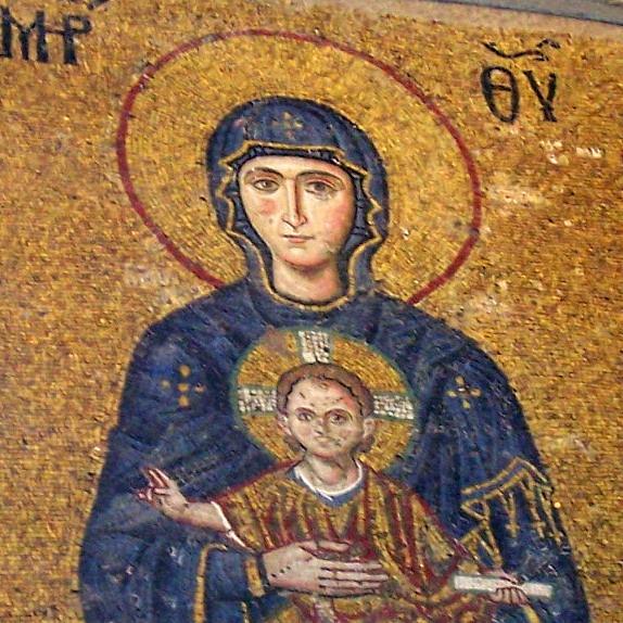 La Virgen y Jesus