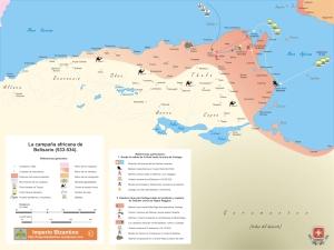 Reconquista romana de Africa 534 v000