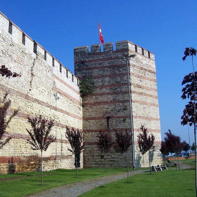 murallas de Bizancio